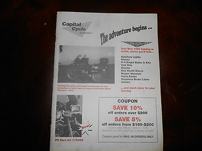 1995 BMW Capital Cycle Catalog Parts and Accessories 58 pgs