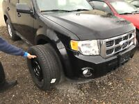 Snow tires and rims from a 2011 Ford Escape 235/70/16  $550.00 London Ontario Preview