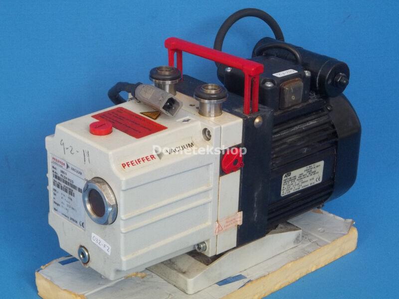 Pfeiffer Vacuum UNO 5 Single stage Rotary Vane Pump Capacity 5 (6) m3/hr
