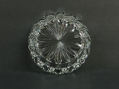 PRISTINE Vintage Godinger Crystal Hershey Kiss Candy Dish VERY NICE  - $28.00