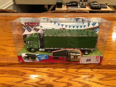DISNEY PIXAR CARS HAULER GIL - WORLD OF CARS #7 (UNOPENED)