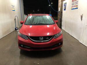2014 Honda Civic Si 4 Door Red