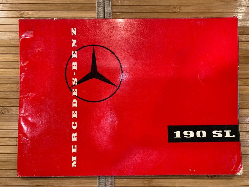 Original Mercedes 190 SL Sales Brochure