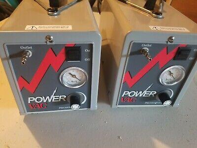Lot Of 2 Precision Medical Power Vac Aspirator Suction Pump - Pm61