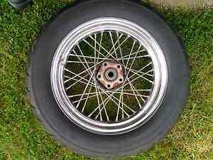 Harley davidson front /rear wheels Bacchus Marsh Moorabool Area Preview