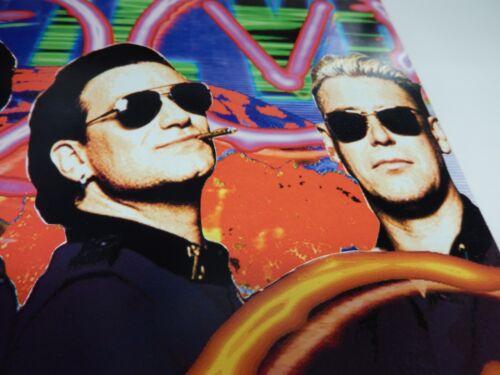U2 ZOO TV LIVE FROM SYDNEY! RARE Promo Poster Flat NEW ORIGINAL VINTAGE FREE PH