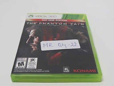 Metal Gear Solid V: The Phantom Pain -- Day One Edition (Microsoft Xbox 360) MR0