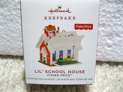 2019 Hallmark Miniature Ornament FISHER-PRICE School House Tiny