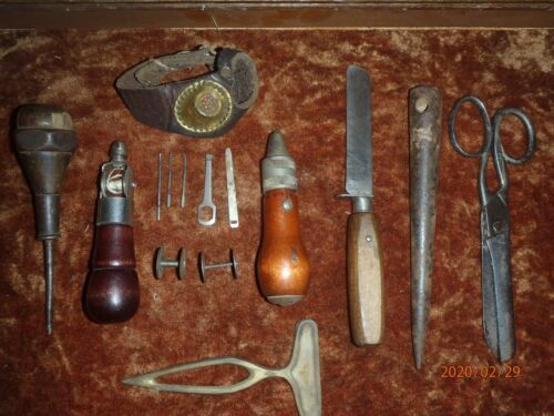 Early 20th century Sailors/Sailmakers tools