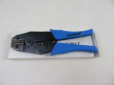 New Amphenol Ctl-13 Ratchet Crimper Crimp Tool Hex Size .105 .128 .151