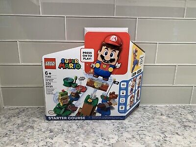LEGO (71360) Super Mario Starter Course In Hand Free 2day, UPS/FedEx Only!!