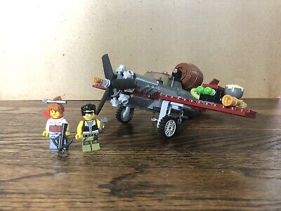 Lego 9467 Monster Fighters Prop Plane Minifigs Halloween