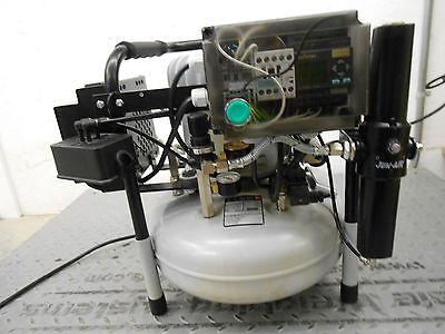 Jen-air 6-15 0.54hp Ultra Quiet Lab Dental Compressor Base Unit
