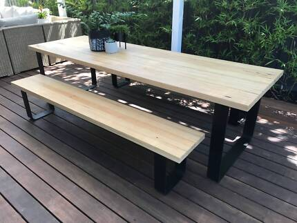 Outdoor Dining Table Benches
