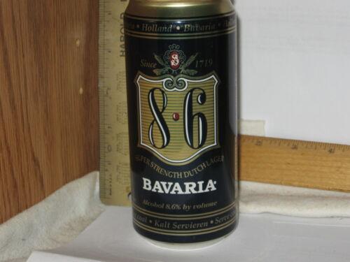 Bavaria 8*6 8.6 Super Strength Dutch Lager Holland 440 ml d/i steel beer can