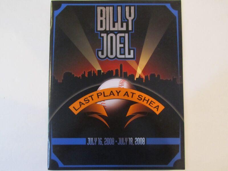 NEW Billy Joel LTD Last Play @ Shea Program Free Ship!