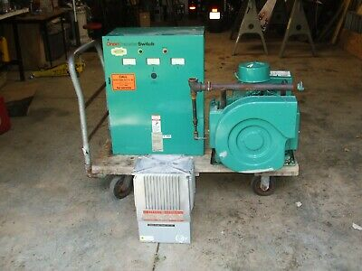 Onan 6.5k Genset 6500 Watt Generator 6.5 Kw W Transfer Switch And Transformer