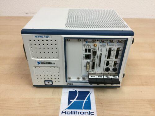 National Instruments PXIe-1071 W/ PXIe-8101, PXIe-6341, PXIe-4110