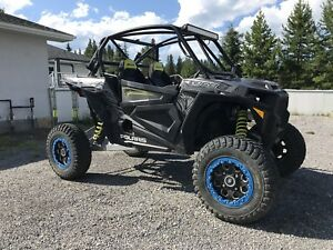 2017 RZR TURBO CHASSIS/CUSTOM ROLLCAGE