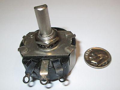 Cts 50 Ohm 2 Watt Wire Wound Potentiometer Ra20 Type Nos 1 Pcs.