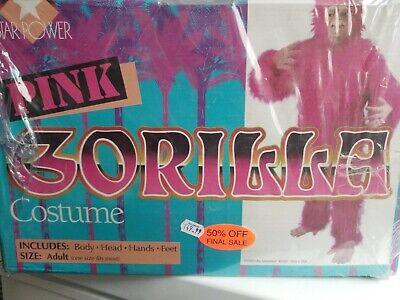 Pink Gorilla Costume (GORILLA SUIT PINK Deluxe ADULT  Costume LOFTUS 50 % off Final SALE)