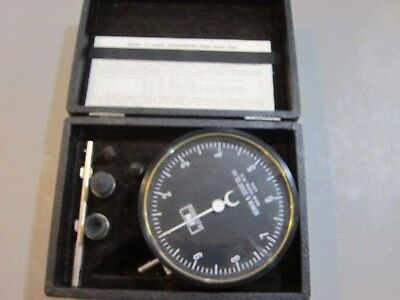 Vintage Herman H. Sticht Model J Hand Tachometer- Free Shipping