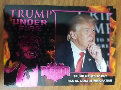 Decision 2016 TUF9 Trump Under Fire PINK - Trump Wants to Put Ban on Muslim Card