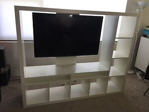 "Ikea TV Unit Including 47"" Aldi Full HD TV Greenwich Lane Cove Area Preview"