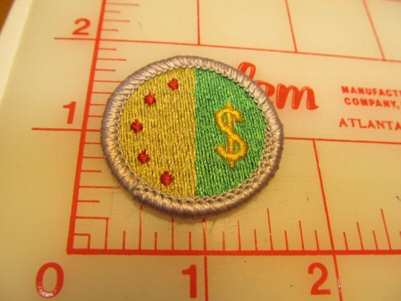 Scout stuff backed PERSONAL MANAGEMENT merit badge emblem patch (yZ)