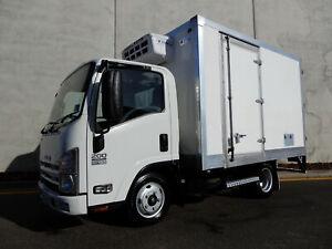 07/2014 Isuzu NLR 200 Fridge Truck Bell Park Geelong City Preview