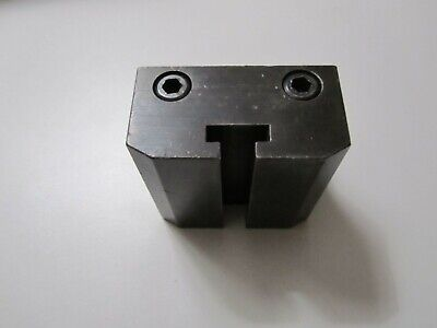 Hardinge Tool Riser Block Double Tool Cross Slide For 59 Series Dovetail Lathes