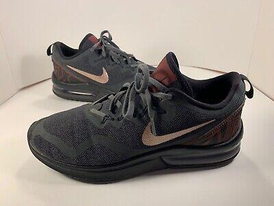 Nike Air Max Fury AA5739-005 Mens 9.5 Black Bronze Red