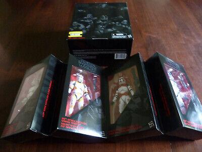 "Star Wars Order 66 Clones 4-pack 6"" Black Series 501st Shock Entertainment Earth"