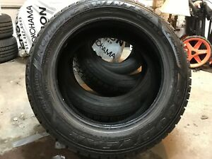 Complete Set of Goodyear Nordic 205-55-R16 Winter Tires