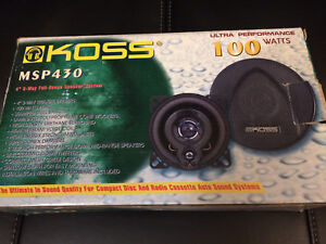 "2 x 4"" Car Speaker 100W"