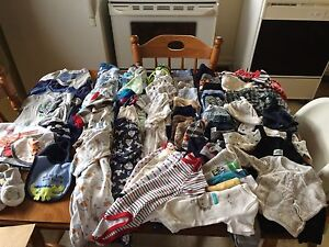 3-6 month baby boy clothing lot