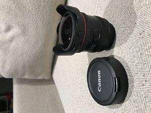 Canon 8-15mm 1:4 L USM Fisheye Zoom Lens