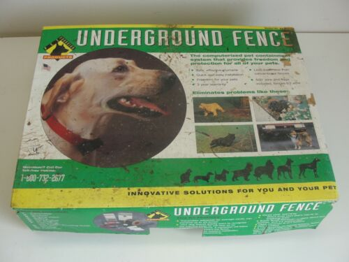GUARDIAN PET TRAINING SYSTEMS UNDERGROUND DOG FENCE CONTAINMENT SYSTEM