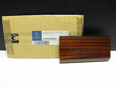OEM Mercedes Benz New Zebrano Wood Ashtray Housing Top Covering Trim  W124 85-96 for sale  Mount Pleasant