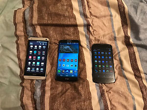 3 Android Phones for sale.