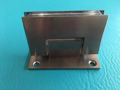 DreamLine Satin Finish Glass Shower Door Hinge 2 1/4