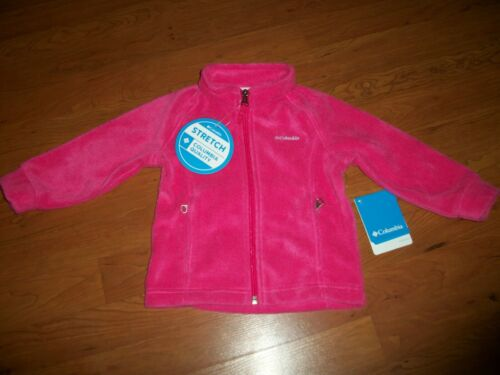 NWT girls Columbia Benton Springs fleece jacket, size 2t Pink