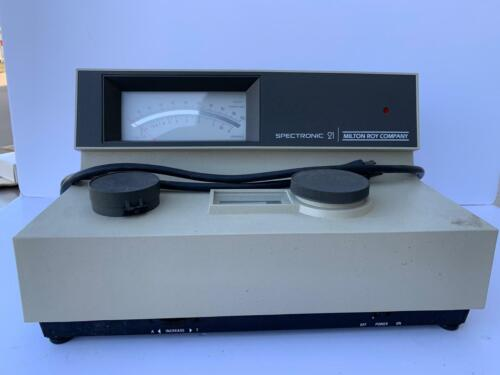 Milton Roy Spectronic 21 Spectrophotometer  60 DAY WARRANTY