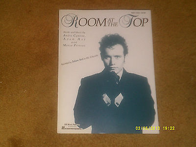 Adam Ant sheet music Room at the Top 1989 6 pages (VG+ shape)
