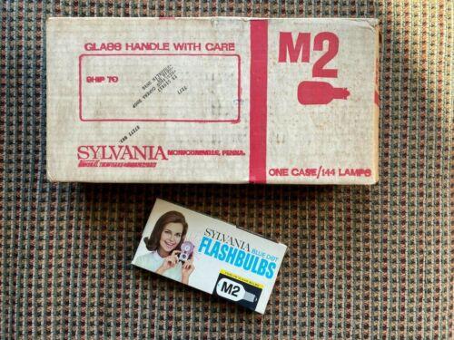 One Case of Vintage Sylvania M2 Flashbulbs (12 Packs)