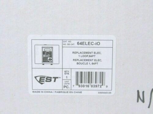 Edwards EST 64ELEC-IO iO64 Intelligent Life Safety System Replacement  [CTOKC]