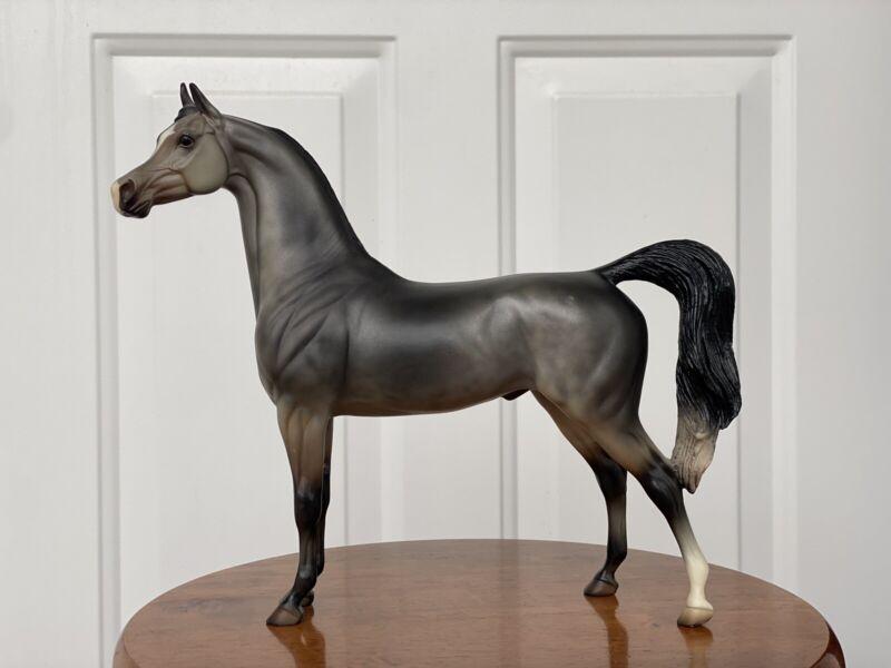 "Peter Stone ""HH Silver Sultan"" #160 Matte Grey Arabian 2001"