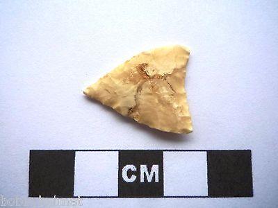 Neolithic Arrowhead 24mm, Saharan Flint Artifact - 4000BC  (J037)