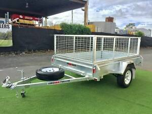 PREMIUM 8x5 Box Trailer 600mm Cage Hot Dipped Galvanised - TIPPER Sumner Brisbane South West Preview