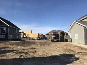 Lakeside subdivision residential lot